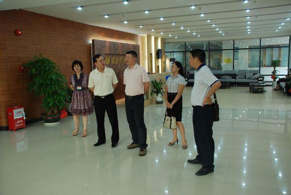 河源团市委领导班子莅临青少年宫参观指导
